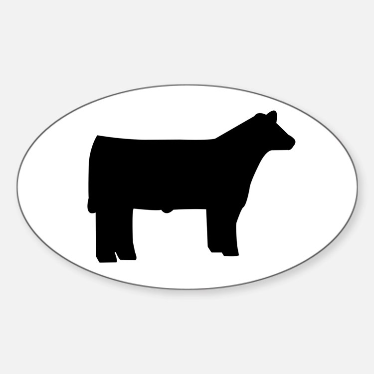 Cattle Oval Decal