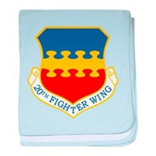 20th Fighter Wing.png baby blanket
