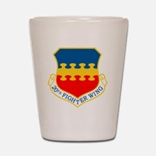 20th Fighter Wing.png Shot Glass