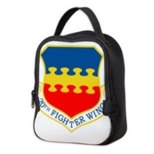 20th Fighter Wing.png Neoprene Lunch Bag