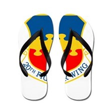20th Fighter Wing.png Flip Flops