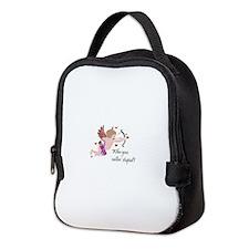 CUPID - Who you callin' stupid? Neoprene Lunch Bag