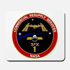 SpX-1 Logo Mousepad