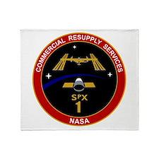 NASAs Spx1 & Spx3 Throw Blanket