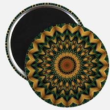 Nature's Mandala Magnets