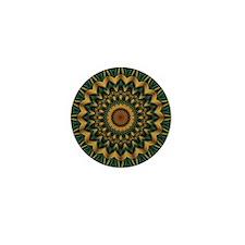 Nature's Mandala Mini Button