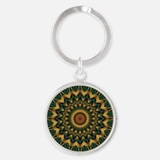 Nature's Mandala Keychains