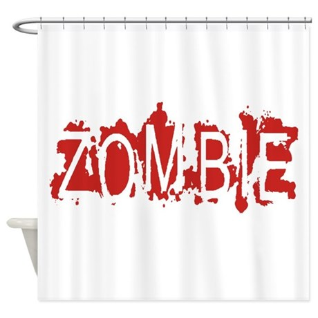 Zombie Shower Curtain By Admin CP19732459