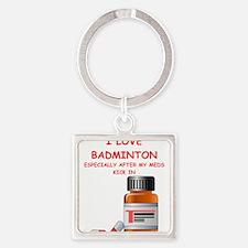 badminton joke Keychains