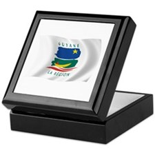 French Guiana Flag Keepsake Box
