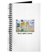 Cute Borzoi Journal
