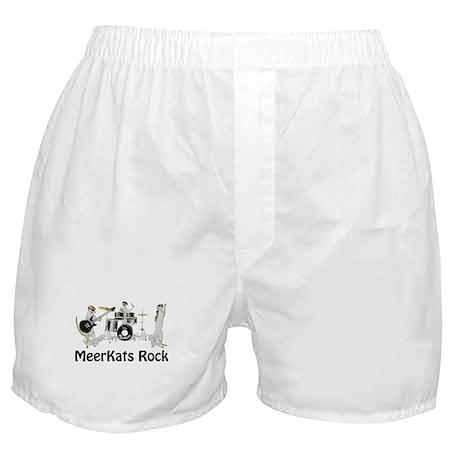 Meerkats Rock Boxer Shorts