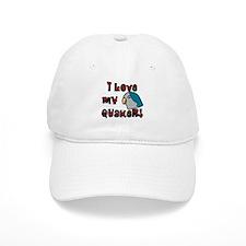 Anime Blue Quaker Baseball Cap