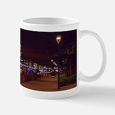 London Millennium Bridge & Skyline Mugs