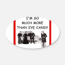 221b joke Oval Car Magnet