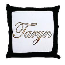 Gold Taryn Throw Pillow