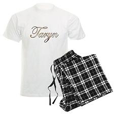 Gold Taryn pajamas