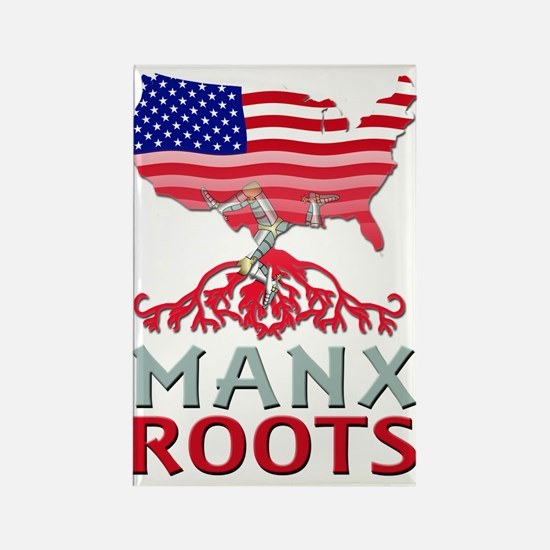 Manx American Roots Magnets