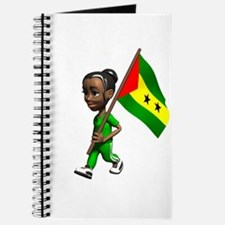 Sao Tome and Principe Girl Journal