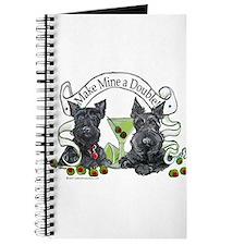 Scottish Terrier Double Journal