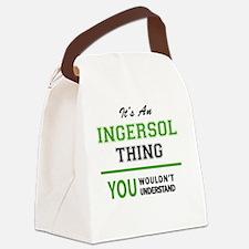 Unique Ingersol Canvas Lunch Bag