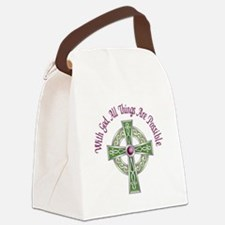 ALL THINGS POSSIBLE Canvas Lunch Bag