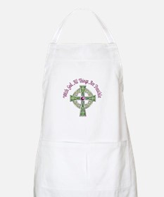 ALL THINGS POSSIBLE Apron