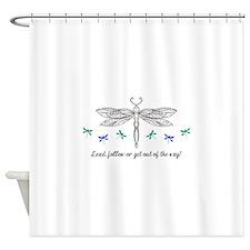 LEAD OR FOLLOW Shower Curtain