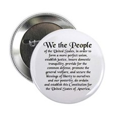 "We the People US 2.25"" Button"