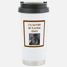 craps joke Travel Mug