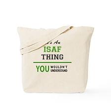 Cute Isaf Tote Bag