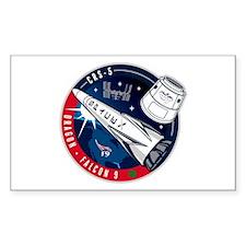NASA's CRS-5 Logo Decal