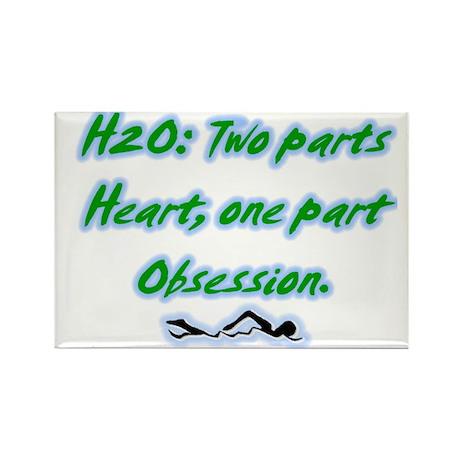 H20 Rectangle Magnet (100 pack)