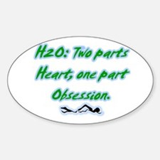 H20 Oval Decal