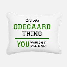Thing Rectangular Canvas Pillow