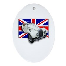 MG TF with Union Jack Oval Ornament