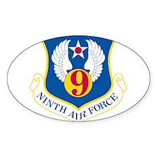 9th U S Air Force Decal