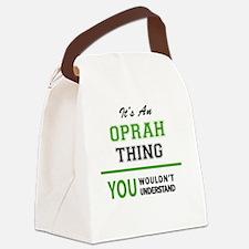Unique Oprah Canvas Lunch Bag