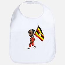 Uganda Girl Bib