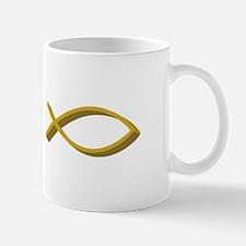 CHRISTIAN FISH FULL FRONT Mugs