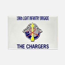 196th CHARGERS Rectangle Magnet
