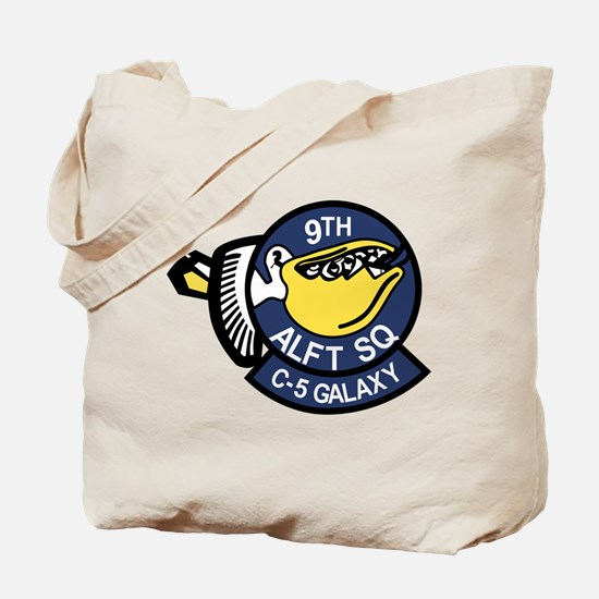 9th Airlift Squadron.png Tote Bag
