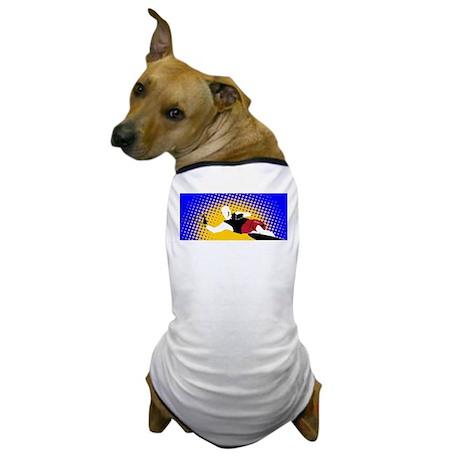 Slalom Water Skier Dog T-Shirt