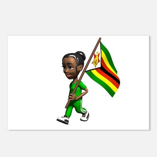 Zimbabwe Girl Postcards (Package of 8)