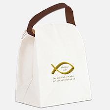 MATTHEW BIBLE VERSE Canvas Lunch Bag