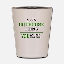 Unique Outhouse Shot Glass