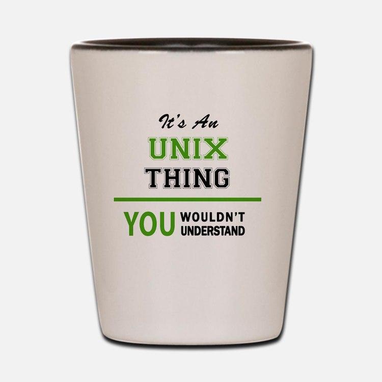 Cute Unix Shot Glass