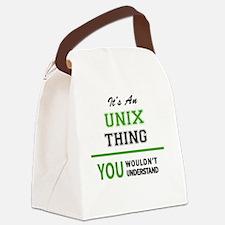 Cute Unix Canvas Lunch Bag