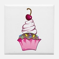 CUPCAKE ONLY Tile Coaster