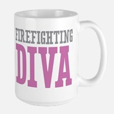 Firefighting DIVA Mugs